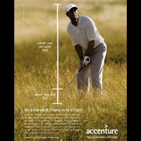 Accenture Tie Ups For Mba by Why Accenture Had To Drop Tiger Woods