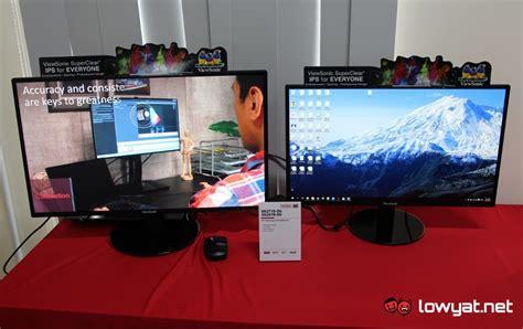 Monitor Viewsonic 24 Inch Va2419 Sh Hd Superclear Ips Led viewsonic launches new superclear ips monitors in malaysia