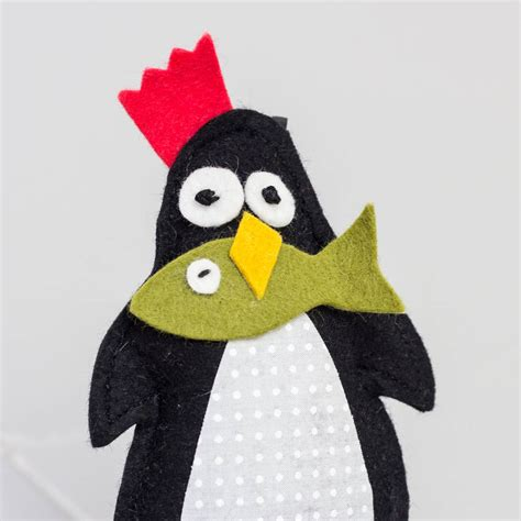 Penguin Decorations by Penguin And Fish Decorations With Cloves By