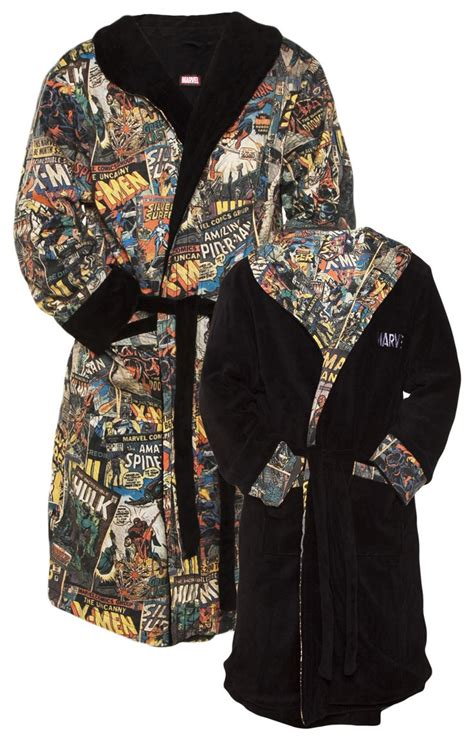 gifts for marvel men s marvel comics characters reversible dressing gown