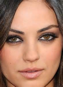 mila kunis eye color mila kunis makeup i wish i looked like