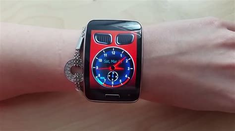 themes clock bmw video bimmer clock for samsung gear s by belvek tizen