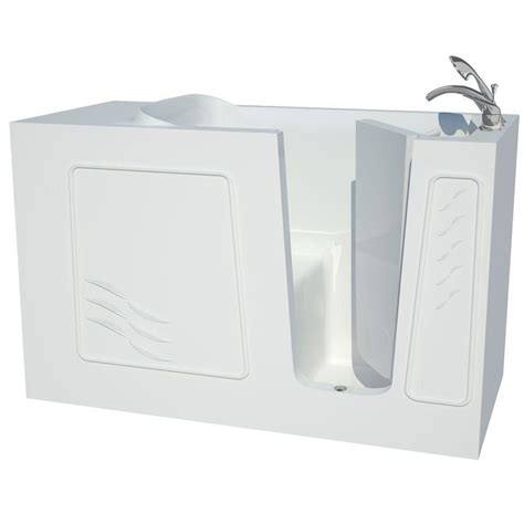 walk in bathtubs home depot universal tubs 5 ft right drain walk in bathtub in white