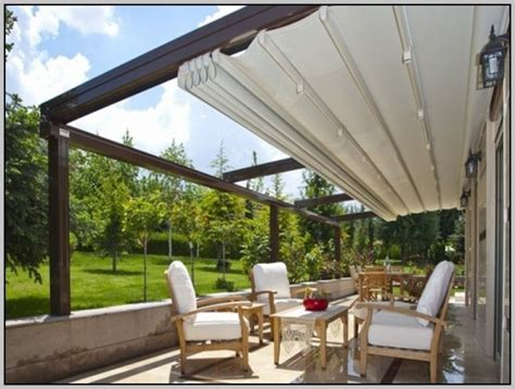 homemade deck awning diy retractable awning schwep