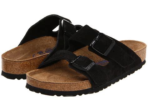 birkenstock unisex arizona soft footbed sandal birkenstock arizona soft footbed suede unisex at