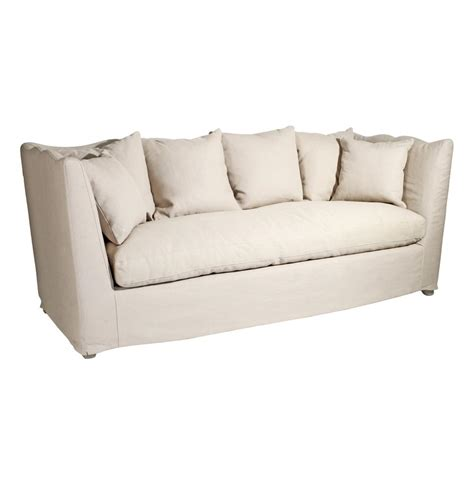 feather down sofa aragon scalloped french cottage county feather down sofa