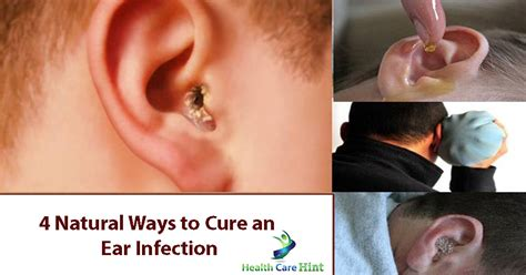 4 ways to cure an ear infection