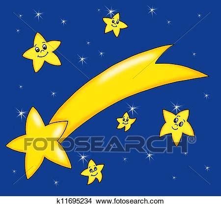 stelle clipart disegni stelle cometa k11695234 cerca illustrazioni