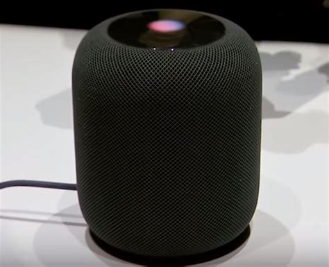 smart speaker and home assistant homepod from apple home