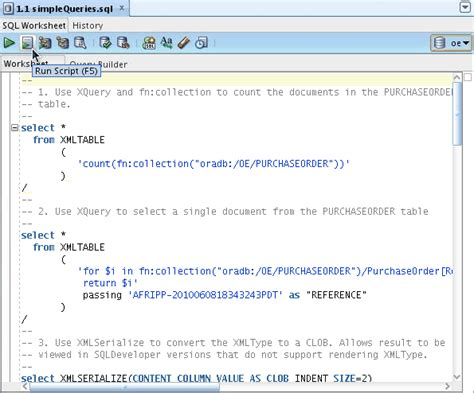 oracle xmltable tutorial using xquery with oracle xml db autos post