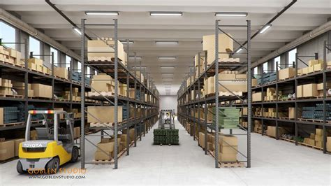 ware house design warehouse design 3d images