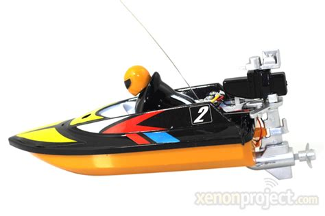 mini micro rc speed boat black - Mini Rc Boat