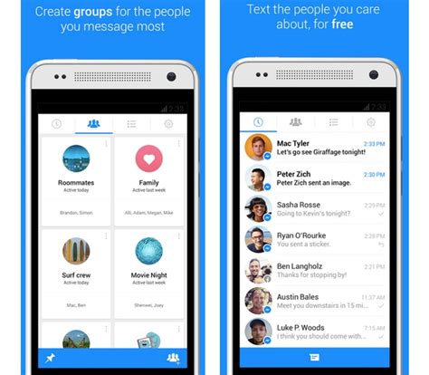 messenger for android messenger 4 0 for android improves messaging adds homescreen shortcuts mobilesyrup