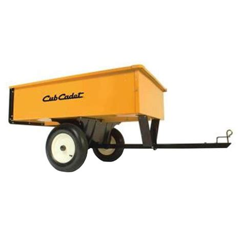 10 cu ft 750 lb steel dump cart 190 653b 100 the home