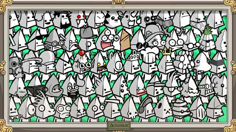 Faced Battle Box by Battleblock Theater Triangle Heads Steam Trading Cards