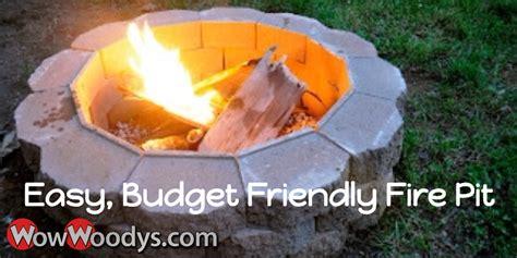 diy pit on a budget diy pit on a budget