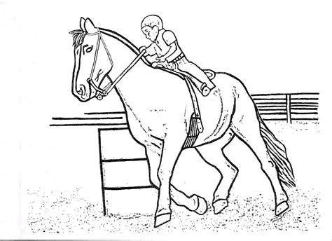 coloring pages of horses barrel racing barrel racing coloring pages horse by horse barrel