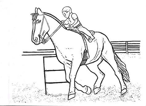 coloring pages of horses barrel racing barrel racing coloring pages by barrel