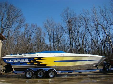 scarab boats ohio 1999 wellcraft scarab powerboat for sale in ohio