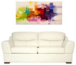 modern abstract paintings modern living room miami by osnat