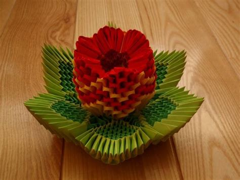 3d Origami Crafts - lotus origami 3d crafts paper origami