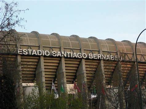 stadio santiago bernabeu di madrid calcio museo ristorante svago viaggi e vacanze a madrid la guida di madrid