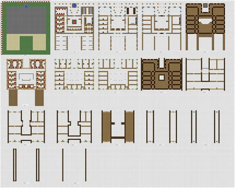 house design plans minecraft minecraft large inn floorplans wip by coltcoyote