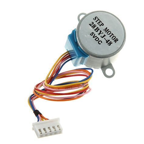 5v 4 Phase 5 Wire Stepper Motor 28byj 48 5v gear stepper motor dc 5v 4 phase 5 wire reduction step for