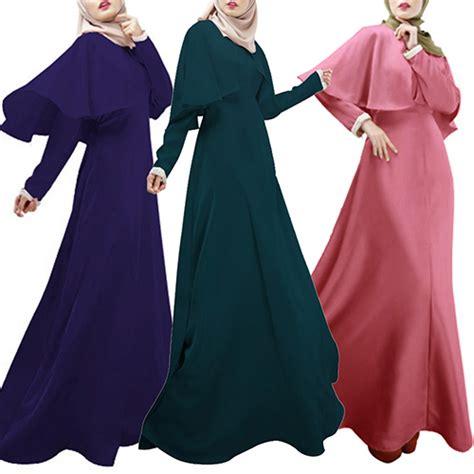 Jilbab Bolak Balik Size L 1 new arrival abaya islamic jilbab arab clothes muslim sleeve maxi dress cloak kaftan