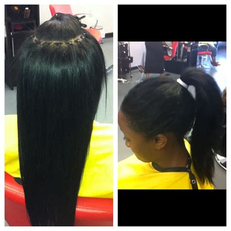 alopecia hair weave in florida microlink sew in weave braidless no lumps no braid