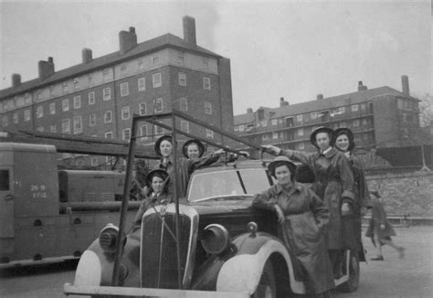 Women Of The Auxiliary Fire Service Merseyside Fire