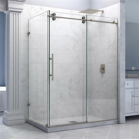 Shower Stalls With Glass Doors Shower Enclosures