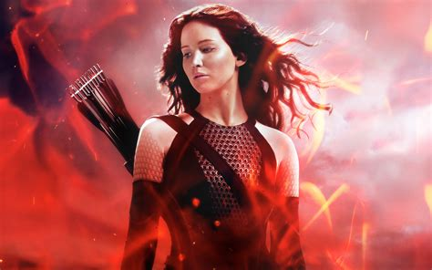 hunger games wallpaper hd katniss in the hunger games catching fire wallpapers hd
