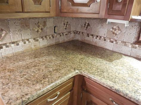 travertine tile backsplash best beautiful subway tile backsplash in traditional phoenix with