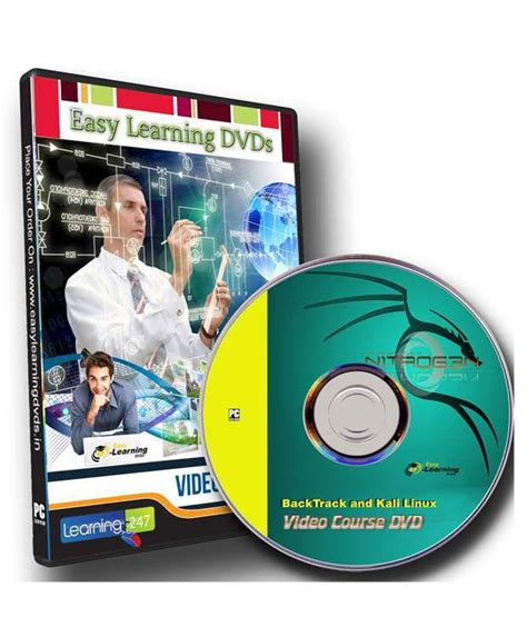 tutorial tc linux learn backtrack and kali linux tutorial video dvd buy