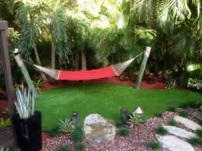 Pergola and hammock tropical landscape miami by