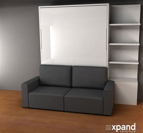 Sofa Wall Beds Murphysofa Clean Expand Furniture
