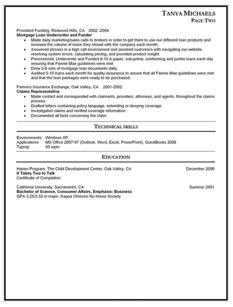 sle resume for returning to work stay at home return to work cover letter sles