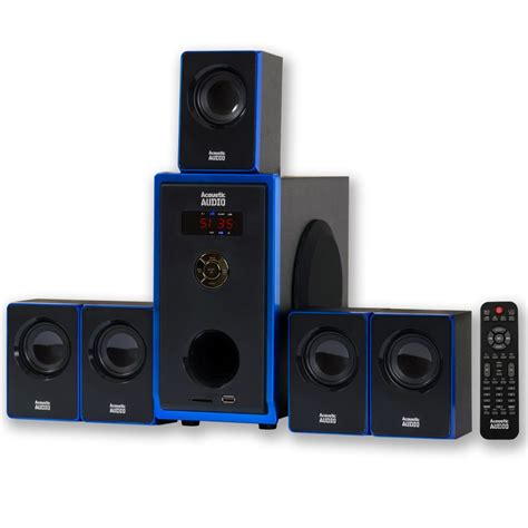 acoustic home theater surround sound audio speaker system