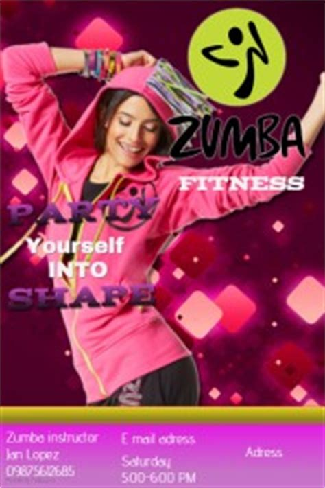 design zumba poster customizable design templates for zumba postermywall