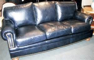 Sectional Sofas Under 1000 102078 Bradington Young Navy Leather Sofa L86 Quot D39