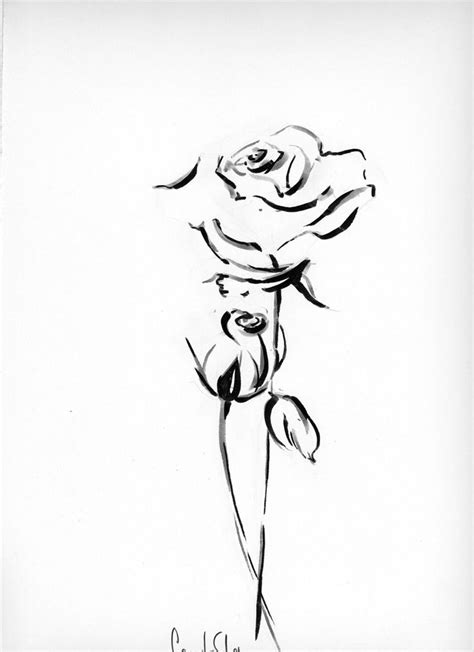 draw tattoo with pen best 25 rose drawing simple ideas on pinterest easy