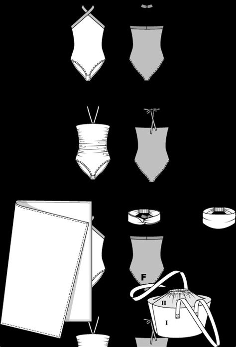 cartamodelli costumi da bagno cartamodelli costumi da bagno fare di una mosca