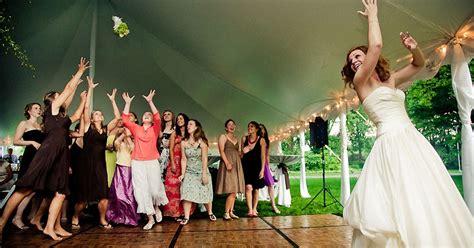 Wedding Bouquet Toss by My View Of The Floor Bouquet Toss And Garter Toss