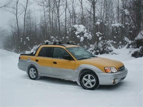 yellow subaru baja 17 best images about subaru baja on the