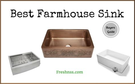 best farmhouse sink for the best farmhouse sink reviews of 2018 freshnss