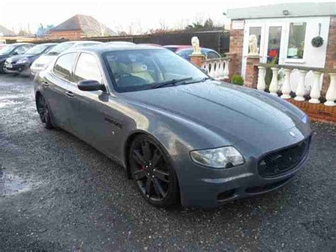 maserati 2007 for sale maserati 2007 quattroporte sport gt v8 zf auto grey car