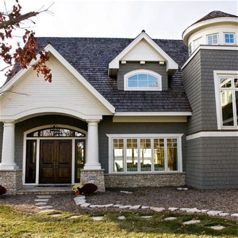 stone front house designs exterior stacked stone design livin large pinterest