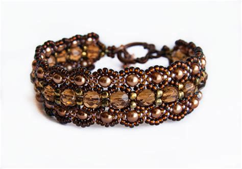 beaded bracelet patterns patroontjes on