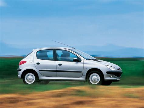 auto pezo peugeot 206 5 doors specs 1998 1999 2000 2001 2002